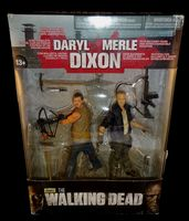 The Walking Dead Daryl & Merle Dixon Action Figure 2-Pack Box Set